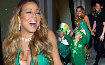 MARIAH Carey Has a Fun-Filled St. Patrick's With Bryan TANAKA!