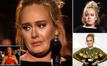 HUGE REACTION: Adele Breaks Her Grammy Statue