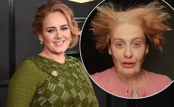 Adele Turns Into a CREEPY Grandma For Her Birthday!