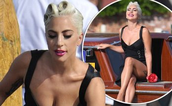 Lady Gaga Travels to Venice ON A BOAT! Almost Drowns...