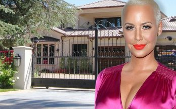 Amber Rose ROBBED! Burglar Was Hiding in Her Home While She Slept...