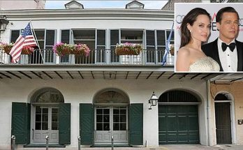 EMPTY HALLWAYS: Brad Pitt and Angelina Jolie Sell Their New Orleans Home...