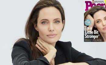 """Angelina Jolie Covers PEOPLE, Says: """"I Am a Little Bit STRONGER!"""""""
