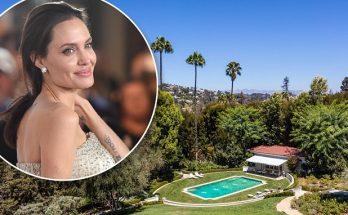 Angelina Jolie Buys $25 Million Hollywood MANSION!