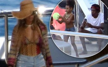 PAPARAZZI: Beyoncé Takes Photos of Jay-Z ON A BOAT!