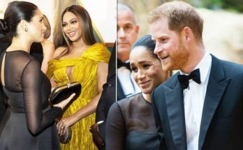 Beyoncé Was Reportedly NERVOUS About Meeting Meghan Markle and Prince Harry!