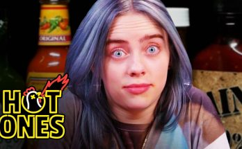 Billie Eilish MELTS DOWN While Eating Spicy Chicken Wings! Prefers Mexican Food...