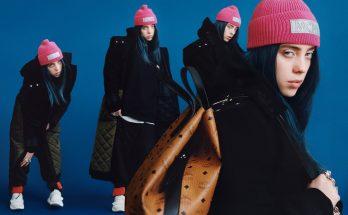 Billie Eilish is a Fashion Model for MCM!