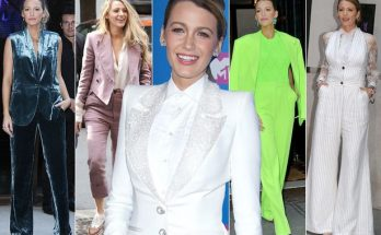 Blake Lively Responds to Jokes About Her Pantsuits!