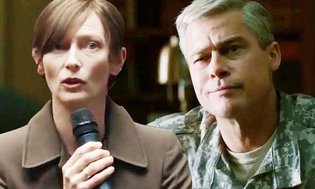 Brad Pitt Plays Superstar Military General in WAR MACHINE Trailer