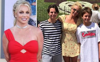 Britney Spears Spends Sunday at DISNEYLand