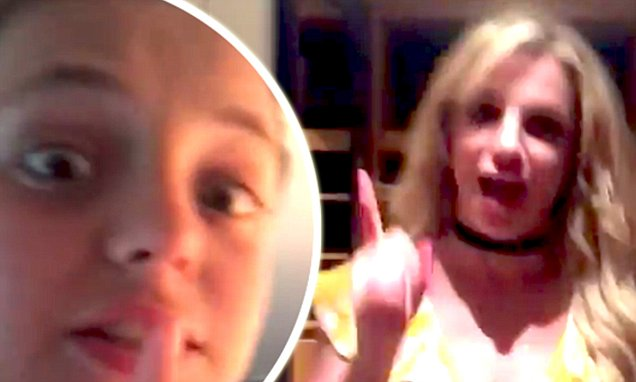 BRITNEY SPEARS Gets Pranked By Son, Jayden!