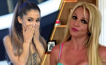 Britney Spears Listens to SELENA GOMEZ While Working Out