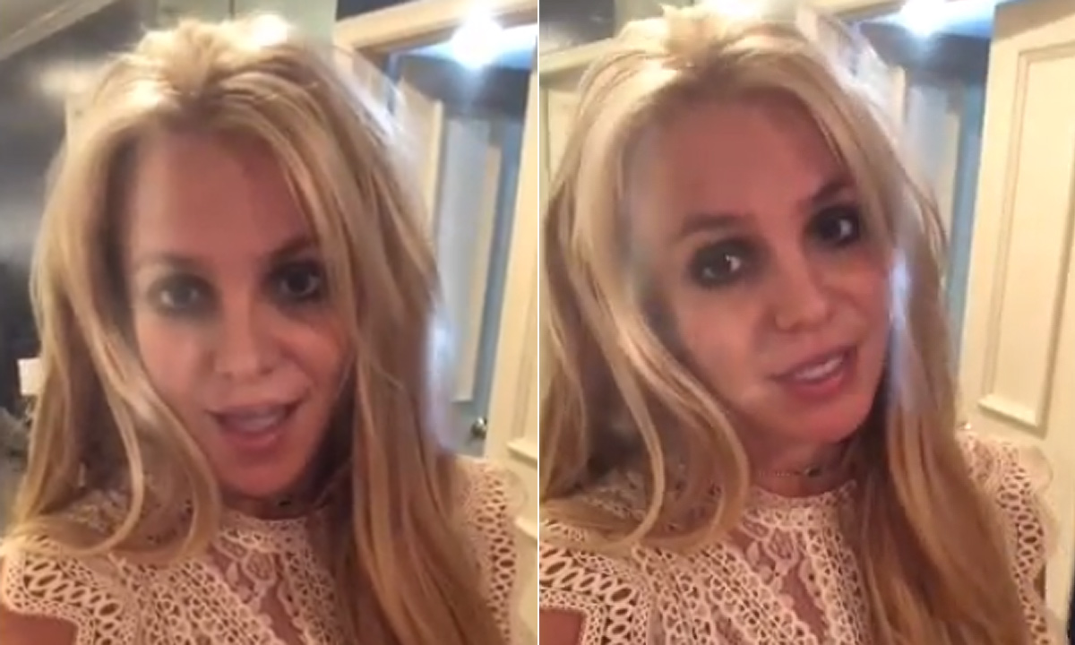 Britney Spears Says STRESS Made Her Lose 5 Pounds!