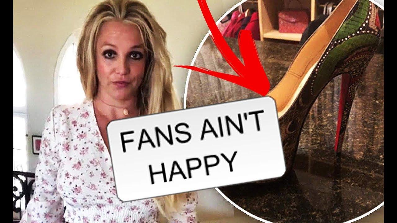 Britney Spears SLAMMED For Her $6,000 Louboutins!