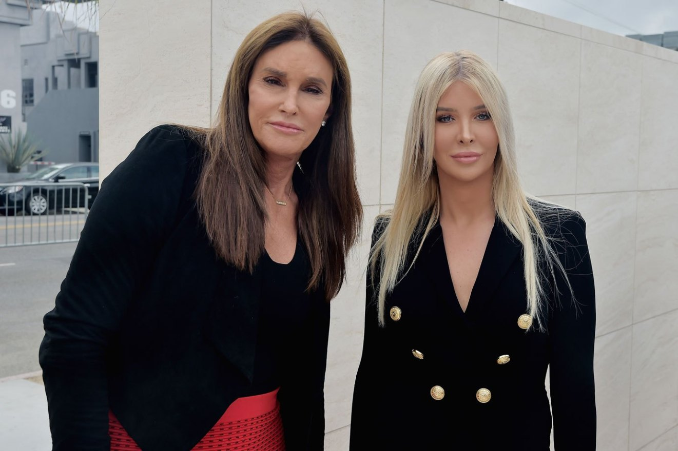 Caitlyn Jenner OUT IN PUBLIC With Girlfriend Sophia Hutchins