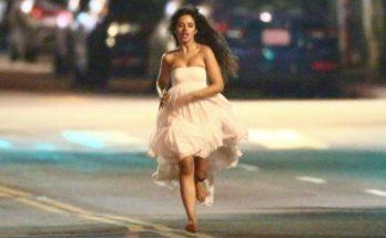 CRAZY: Camilla Cabello Runs Through Los Angeles BAREFOOT!