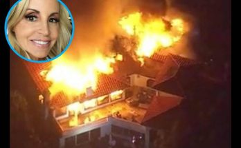 Camille Grammer's Multi Million Dollar Home DESTROYED by California WILDFIRE!