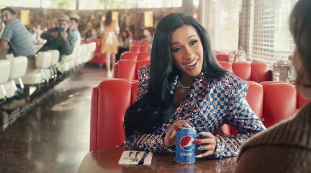 Watch Cardi B's PEPSI SuperBowl Commercial!