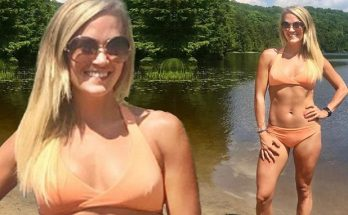 Carrie Underwood is a Nudist Lady by the LAKE!