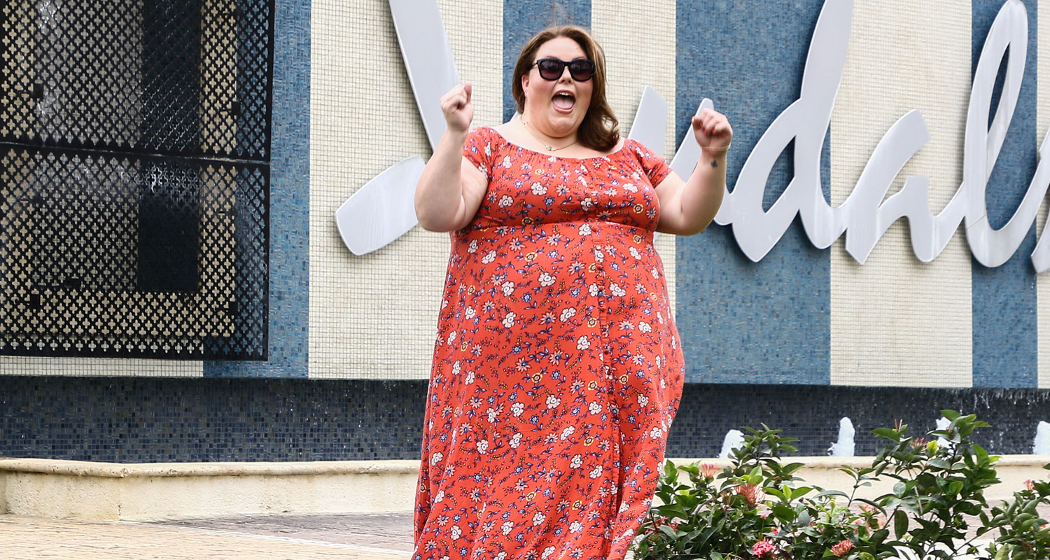 Chrissy METZ Goes to Barbados for Secret Summer Holiday!