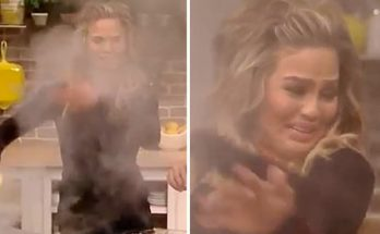 Chrissy Teigen is GROSSED OUT By Her Mom's Sausages!