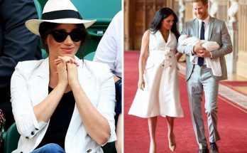Meghan Markle and Prince Harry Share PHOTOS From Baby Archie's Christening