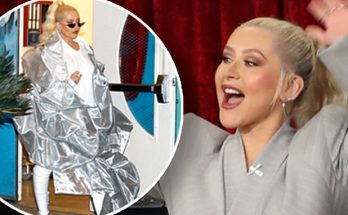 Christina Aguilera GOES CRAZY on ELLEN When Talking About Vegas Residency!