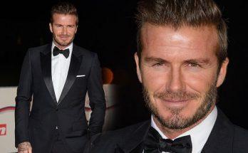 David Beckham Celebrates His Birthday! HAPPY BIRTHDAY!