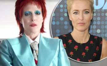 Gillian Anderson Plays David Bowie on 'American Gods' : Watch Here