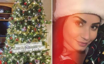 Demi Lovato Opens Her Christmas Gifts On Camera, SHOWS THAT THEY'RE NO DRUGS IN SIGHT!