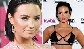 Demi Lovato Spotted With Mystery Man OUTSIDE Rehab Facility! image
