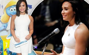 DEMI LOVATO Gives Back To Celebrate 5 Years Being Sober!