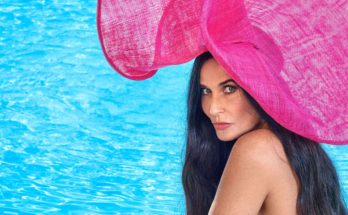 Demi Moore Goes NUDE On the Cover of Harper's Bazaar