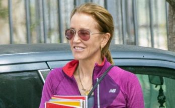 Felicity Huffman is ALL SMILES After Being Sentenced to PRISON!