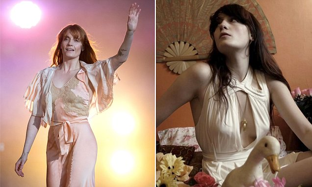 Florence & The Machine CUTS FOOT While Performing in America!