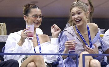 Gigi and Bella Hadid Drink White Wine at the US Open!