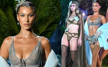Gigi and Bella Hadid Wear Sexy Lingerie During Rihanna's Savage x FENTY Fashion Show!