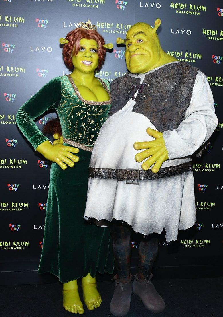 Heidi Klum Dresses Up as Princess Fiona From SHREK!