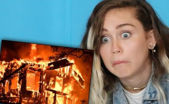 Miley Cyrus Loses MANSION In California Wildfire!