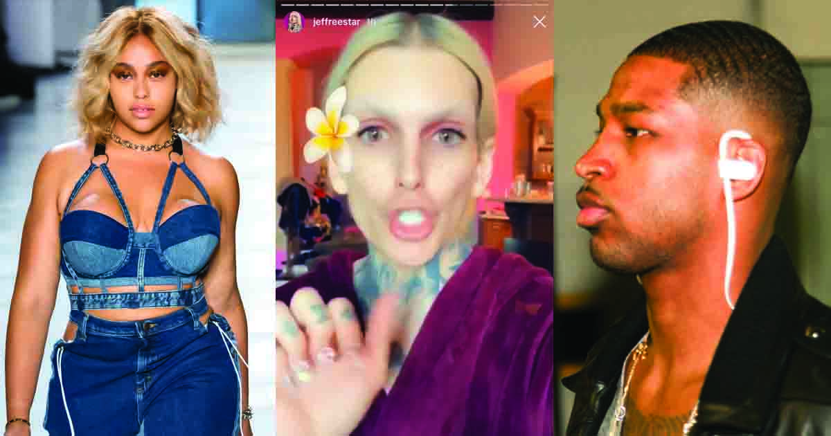 Jeffree Star Says Jordyn Woods and Tristan Thompson Had Been Dating FOR MONTHS!