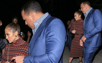 Jennifer Lopez and Alex Rodriguez - Romantic Date Night in Los Angeles