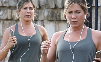 Jennifer Aniston Spends Saturday Afternoon at the SPA!