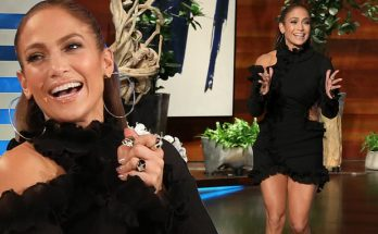 Jennifer Lopez Appears on ELLEN to Promote Tour