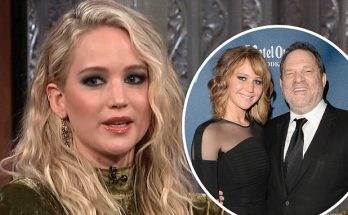 Jennifer Lawrence Takes Off Shoes and BLASTS Harvey Weinstein