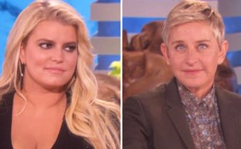 Ellen DeGeneres is SO EXHAUSTED By Jessica Simpson's Stupid!