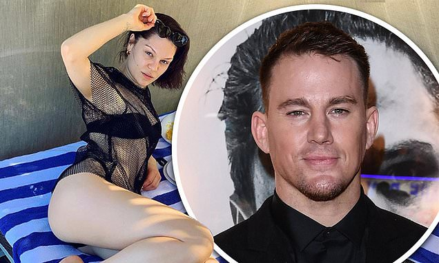 Jessie J Poses in Front of Food, Channing Tatum Comments