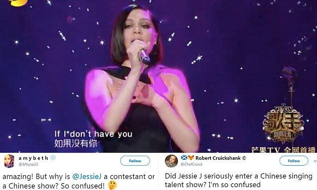 Jessie J Sings MULAN Song in Chinese Singing Competition