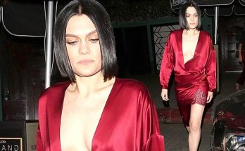 Jessie J Goes Bra-Less on a NIGHT OUT In Los Angeles
