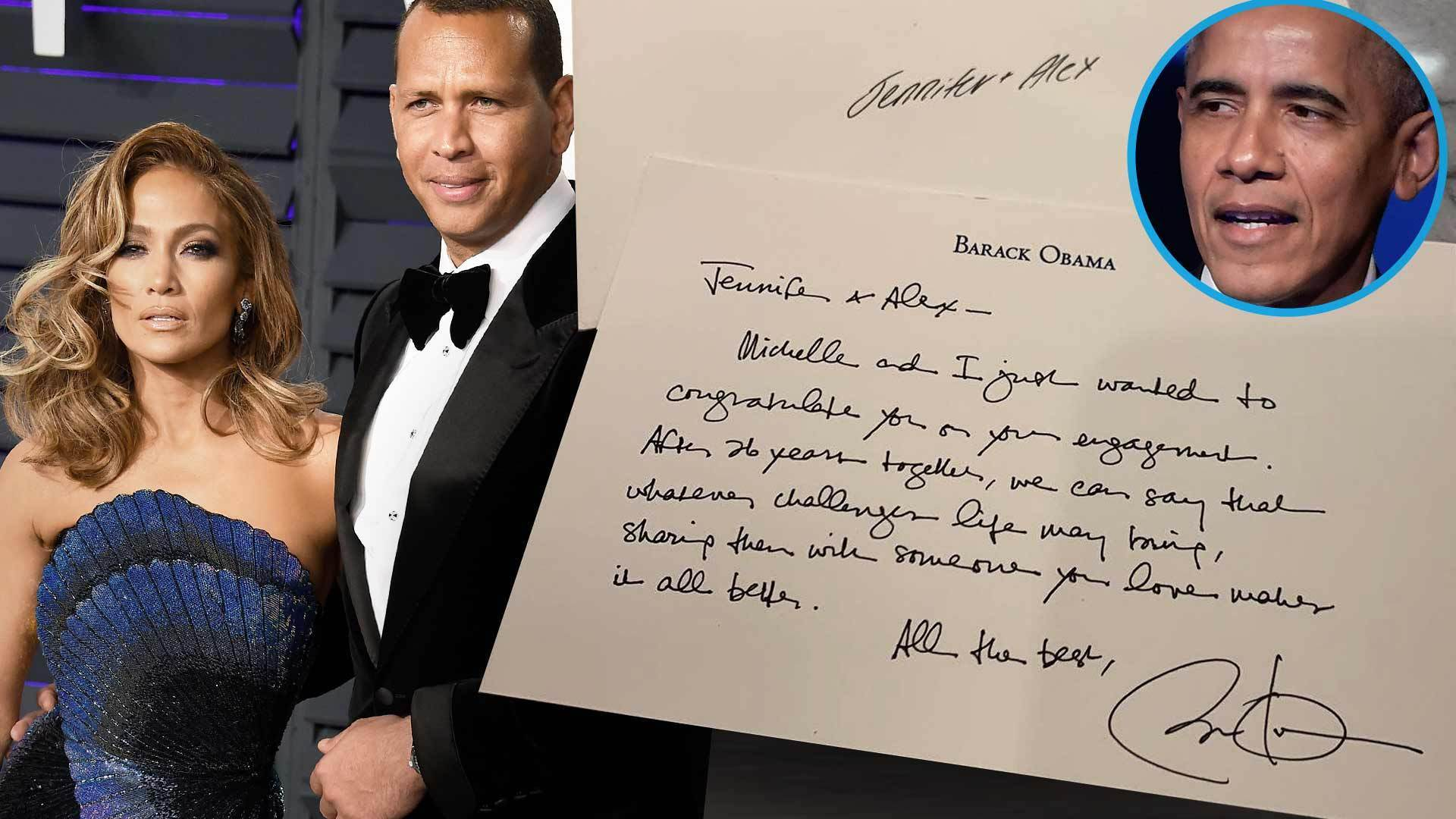 Jennifer Lopez and Alex Rodriguez Receive Well-Wishes From Former PRESIDENTS!
